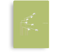 Modest Mouse - Float On Canvas Print