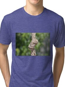 knot on the rope Tri-blend T-Shirt