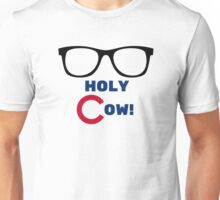 Chicago Cubs Harry Caray Holy Cow Unisex T-Shirt