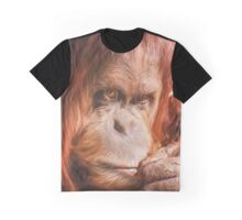 Just Think Hard II  (GO) Graphic T-Shirt