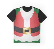 Santa Claus Suit Graphic T-Shirt