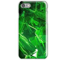 Green Abstract Case iPhone Case/Skin