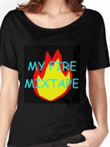 My Fire Mixtape Women's Relaxed Fit T-Shirt