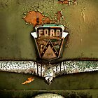 1953 Ford Customline Trunk Detail by mal-photography