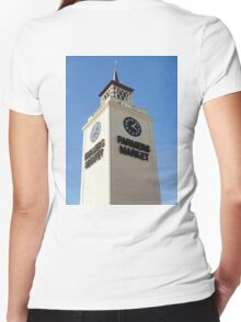 Farmers Marker Study 1  Women's Fitted V-Neck T-Shirt