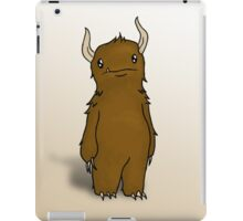 Lonely Troll - Colored iPad Case/Skin