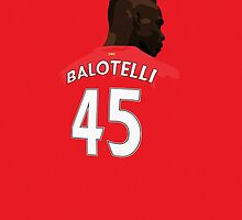 Balotelli iPhone Case by InspireSports