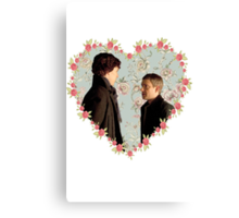 Johnlock- Heart (One) Canvas Print