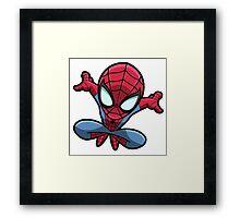 Spidey Jump  Framed Print