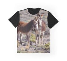 Baby and Mama Burro Graphic T-Shirt