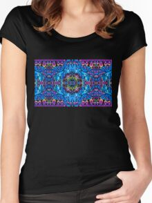 Mandala Reflection Women's Fitted Scoop T-Shirt