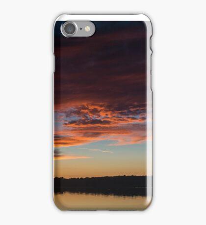 Sunset Sky September 7, 2014 iPhone Case/Skin