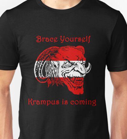 Krampus is coming Unisex T-Shirt