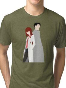 Kurisu Okabe Anime Manga Shirt Tri-blend T-Shirt