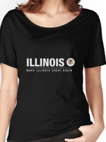 Make Illinois Great Again Women's Relaxed Fit T-Shirt