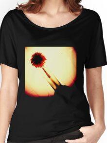 Vignette Flower in Vase Women's Relaxed Fit T-Shirt