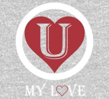 U MY LOVE One Piece - Short Sleeve