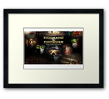 Command and Conquer The First Decade Framed Print