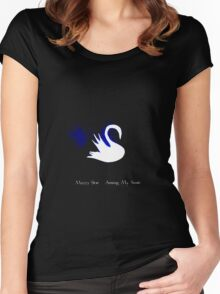 Mazzy Star - My Swan Women's Fitted Scoop T-Shirt