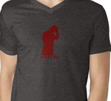 JUSTIFIED Mens V-Neck T-Shirt