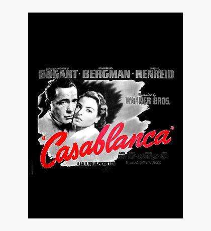 Casablanca Photographic Print
