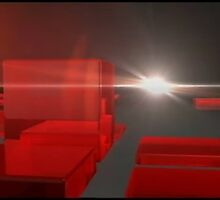 Red Cube by ArtItaly