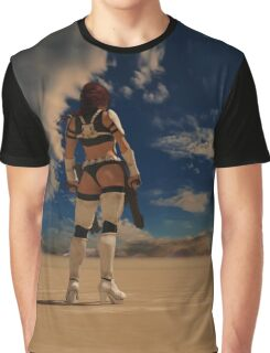 Sexy Storm Trooper Graphic T-Shirt