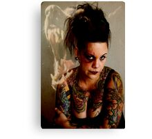 Don't miss with this chick Canvas Print