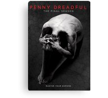 penny dreadful master your demon Canvas Print