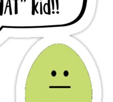 Funny Easter Eggs Sticker