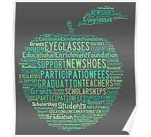 Educational Enrichment Foundation Apple Poster