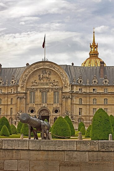 Hotel des Invalides - Paris France by Buckwhite