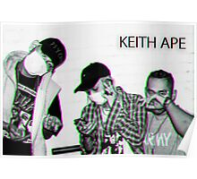 Keith_Ape_R A R E.PNG Poster