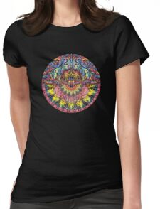 Incandescent Dance Womens Fitted T-Shirt