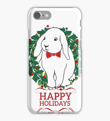 Hoppy Holly Rabbit iPhone Case/Skin