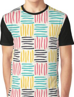Patchwork Brushstrokes II Graphic T-Shirt