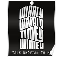 Talk Whovian To Me Poster