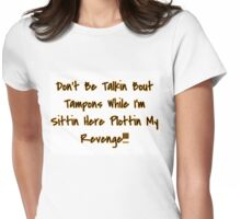 Tampons Womens Fitted T-Shirt