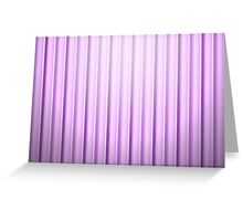violet lines Greeting Card
