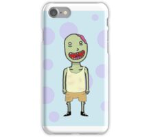Hand Drawn Happy Zombie Phone Case iPhone Case/Skin