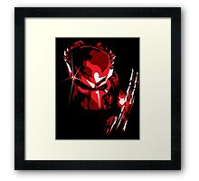 Predator Vector Art Framed Print