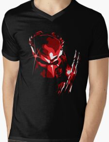 Predator Vector Art Mens V-Neck T-Shirt