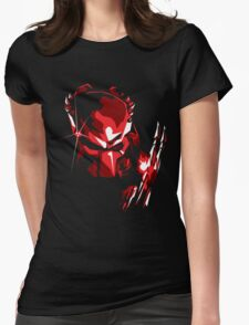 Predator Vector Art Womens Fitted T-Shirt