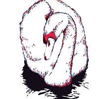 Swan by oxanaart