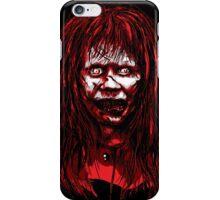 Reagan Exorcist Vector Art iPhone Case/Skin