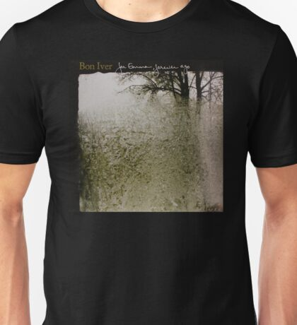 Bon Iver - For Emma, Forever Ago - Album Artwork Cover Unisex T-Shirt