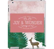 Joy and Wonder Deer iPad Case/Skin