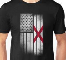 USA Vintage Alabama State Flag Unisex T-Shirt
