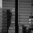 Window Washers - Chicago, Illinois by Roger Passman