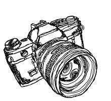 Vintage 35mm SLR Camera Design by strayfoto